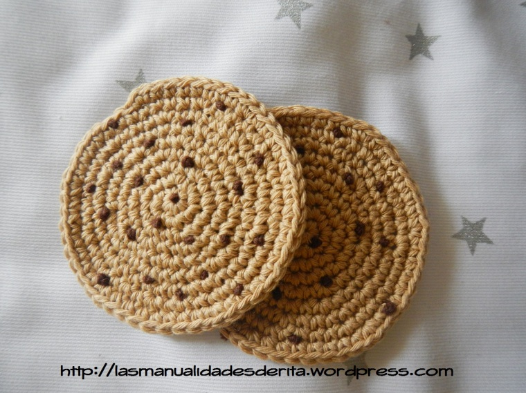 Posavasos Cookies ganchillo