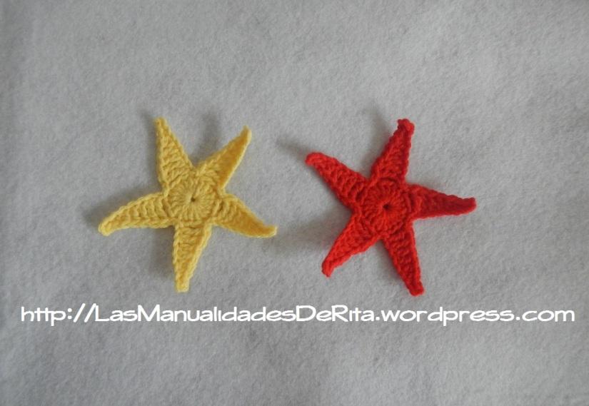 Estrella ganchillo