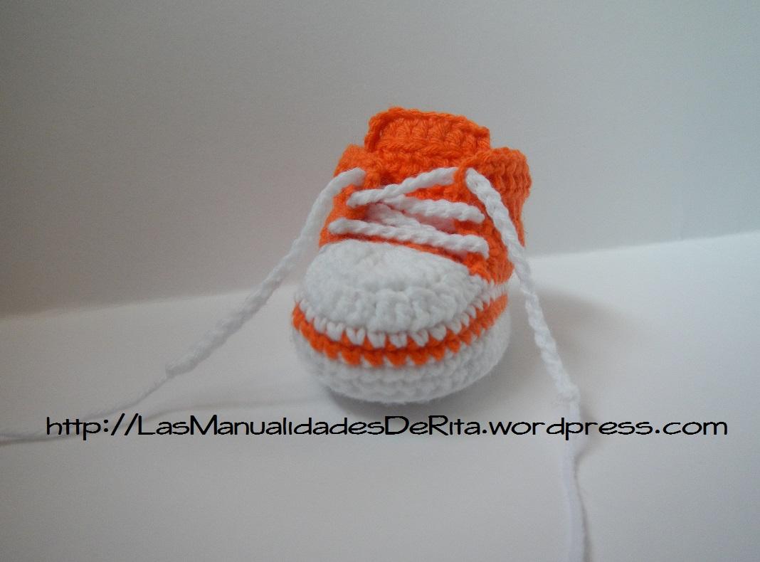 Zapatillas para bebé tipo converse