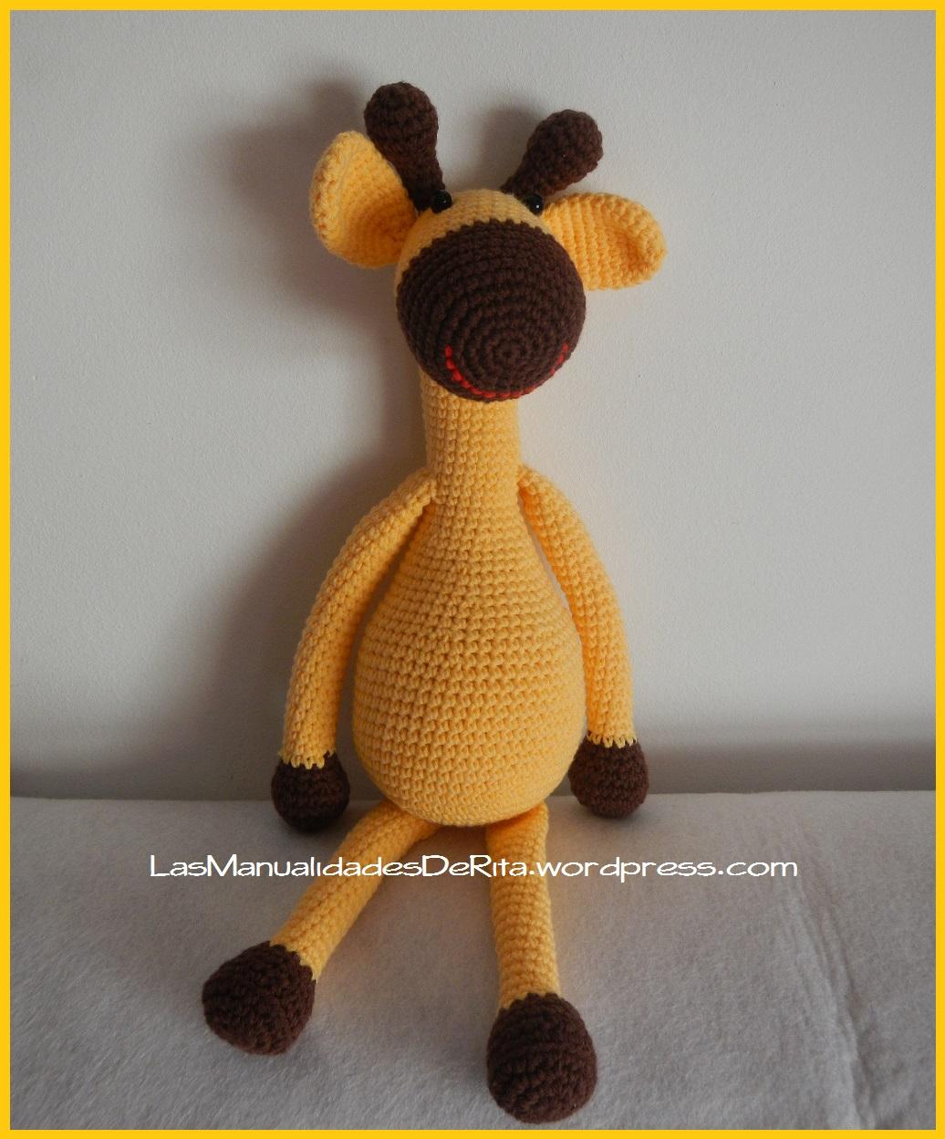 Bichus Amigurumis: Sonajero Jirafa Amigurumi Crochet | 1248x1036