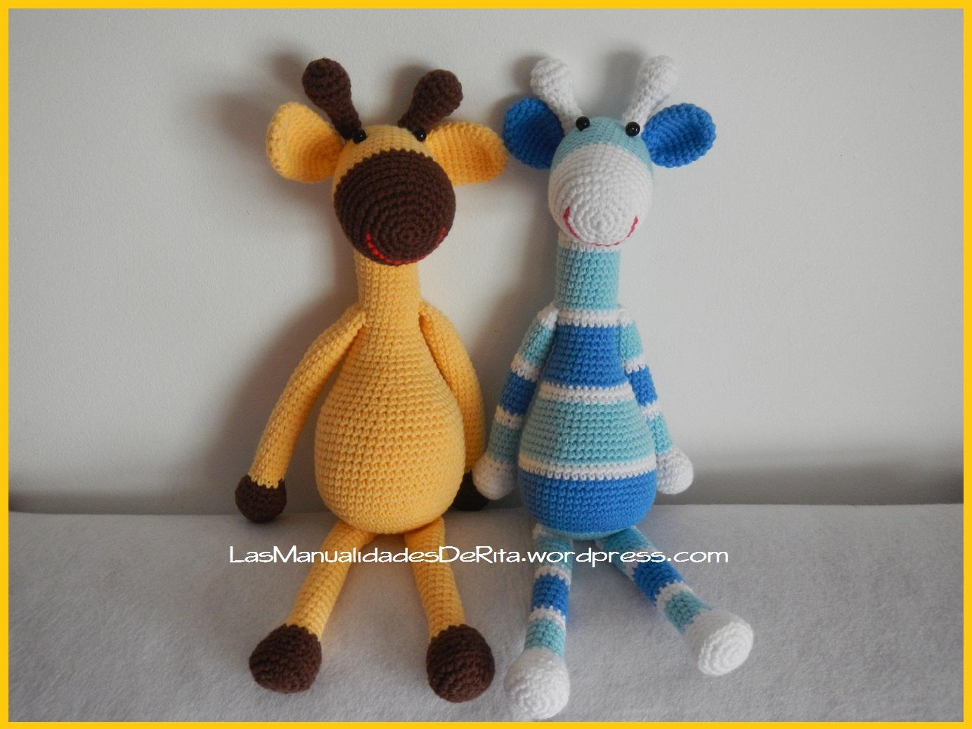 Excepcional Crochet Jirafa Patrón Amigurumi Fotos - Manta de Tejer ...