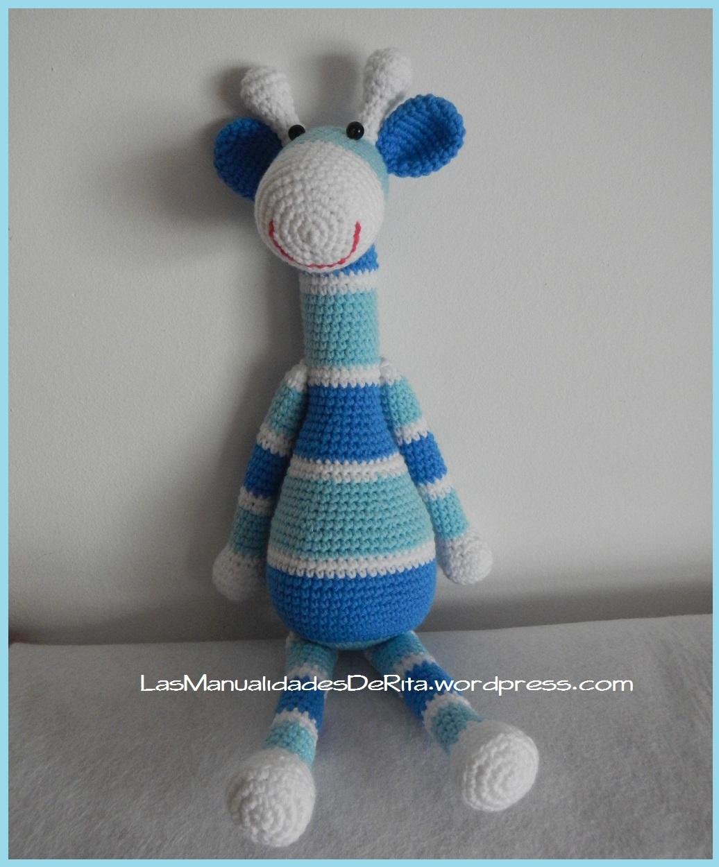 Giraffe baby rattle crochet pattern | Jirafa amigurumi, Patrones ... | 1250x1036