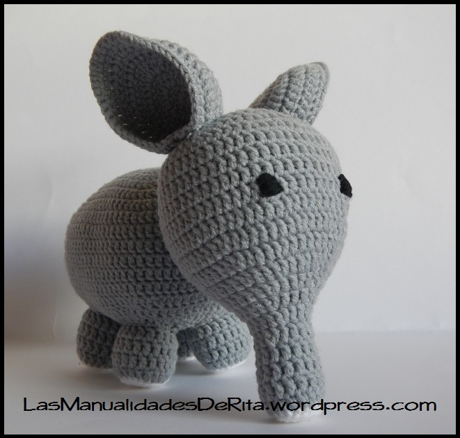 Elefante amigurumi