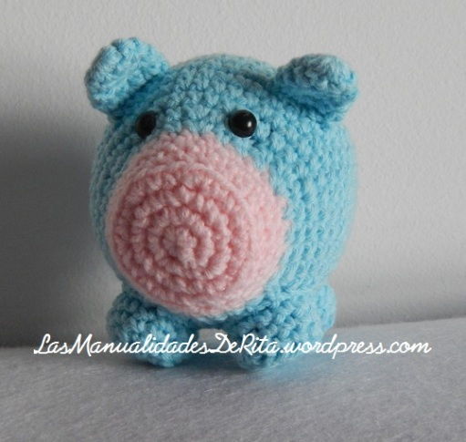 Cerdo amigurumi ganchillo (3)