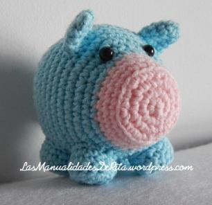 Cerdo amigurumi ganchillo (4)