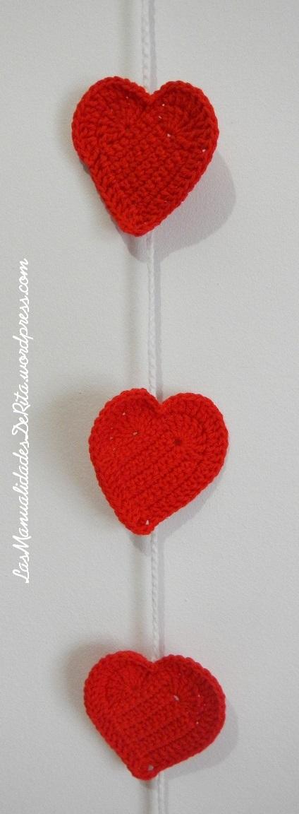 Girnaldas corazón ganchillo (2)