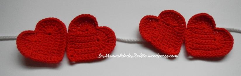 Girnaldas corazón ganchillo (4)