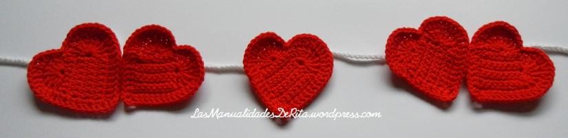 Girnaldas corazón ganchillo (6)