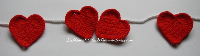 Girnaldas corazón ganchillo (7)