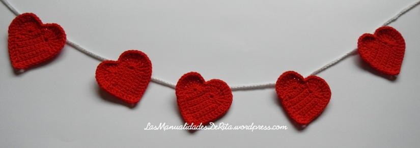 Girnaldas corazón ganchillo (9)