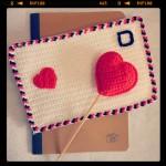Sobre especial San Valentín a Ganchillo