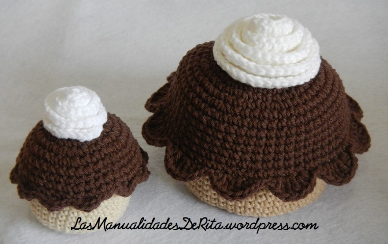 Cupcakes amigurumi (5)