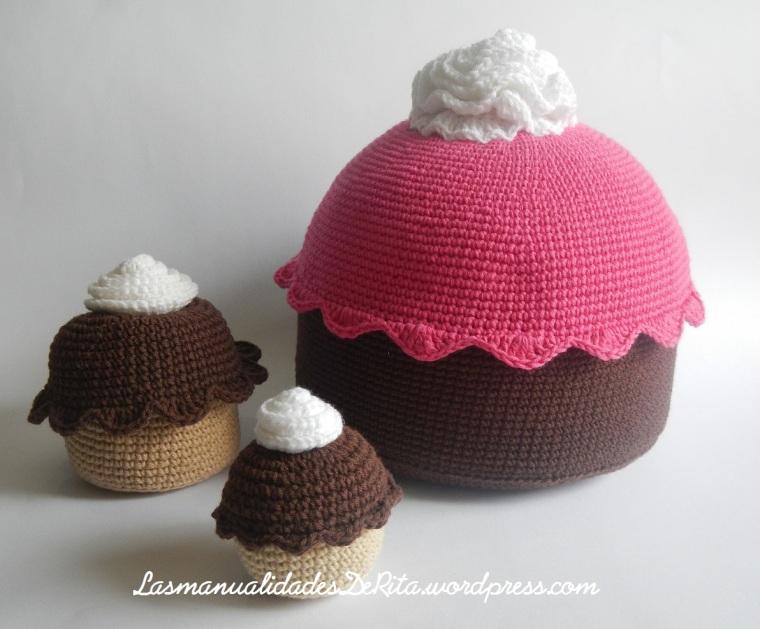Cupcake amigurumi
