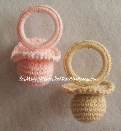Chupete crochet