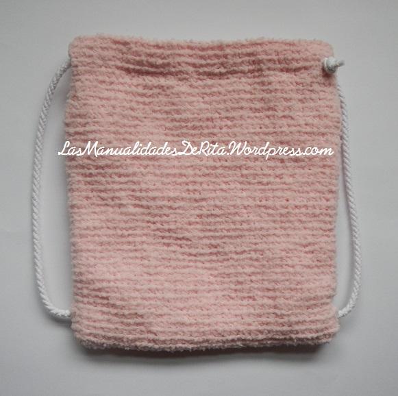Mochila crochet
