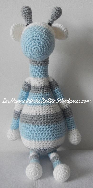 Jirafa Crochet (Maria Martinez Amigurumi) | En pleno proceso… | Flickr | 784x390