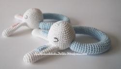 Sonajeros a crochet