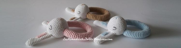 Sonajeros de crochet