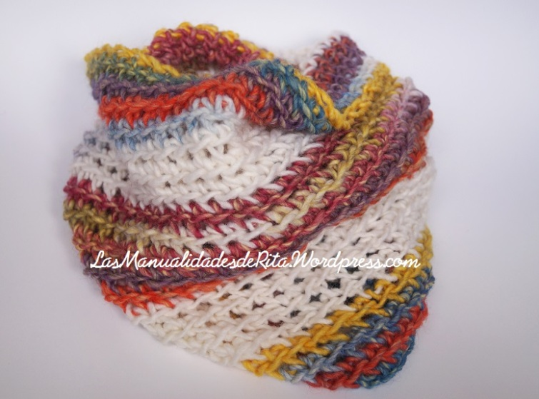 cuello crochet katia kunky