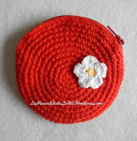 monedero crochet rojo (1)