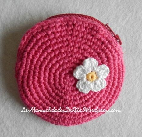 monedero ganchillo rosa (1)