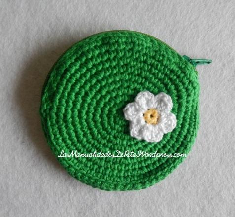 monedero ganchillo verde (1)