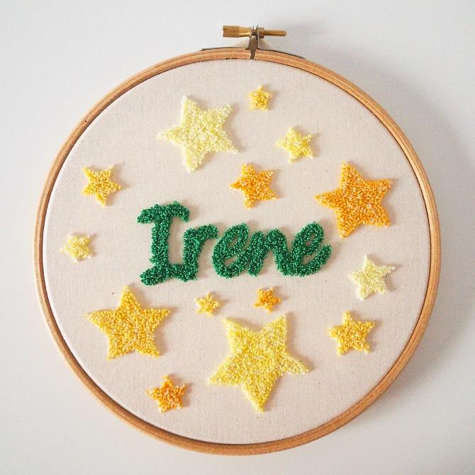 Aguja mágica - Bastidor Irene