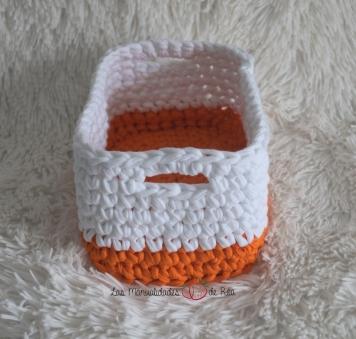 Cesta trapillo crochet