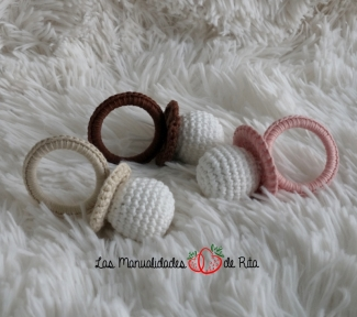 Chupetes crochet