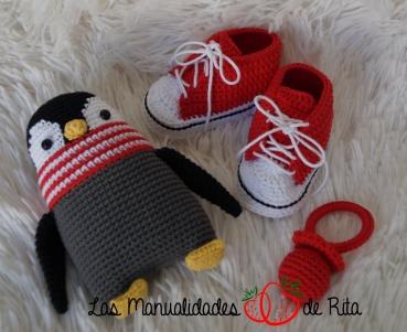 Chupete, Patucos converse y pingüino (1)