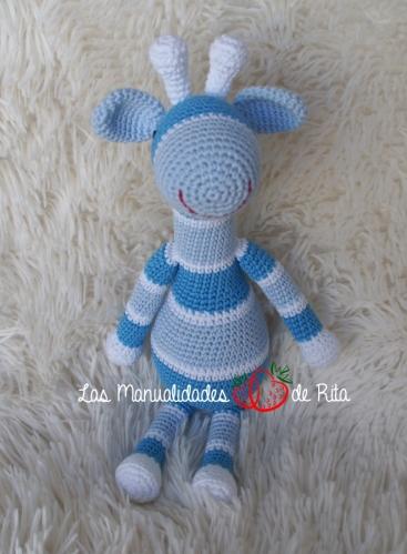 Jirafa azul rayas (1)