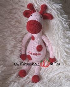 Jirafa rosa Valeria (2)