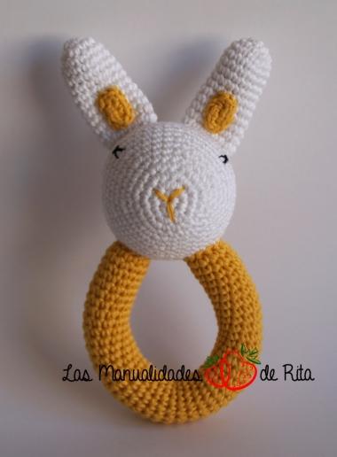 Sonajero crochet