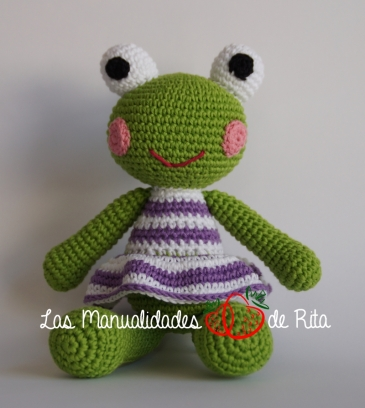 amigurumi-frog