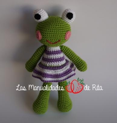 crochet-frog