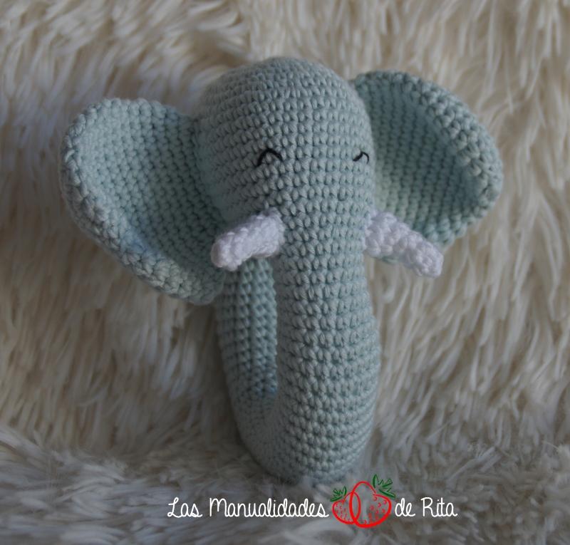 Elefante Amigurumi Tejido A Crochet Llavero Elefantito - $ 250.00 ... | 765x800