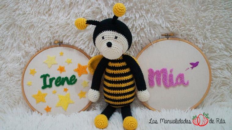 Bastidores y abeja
